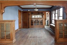 Rehab Addict Nicole Curtis Bungalow Dining Room Makeover Before