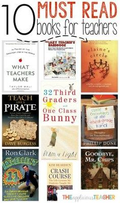 97 best my favorite teacher books images on pinterest teacher 10 must read books for teachers fandeluxe Gallery