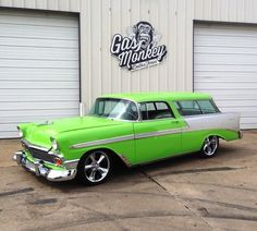 Dale Earnhardt, Jr.'s MagnaFlow equipped 1956 Nomad, built by Gas Monkey Garage