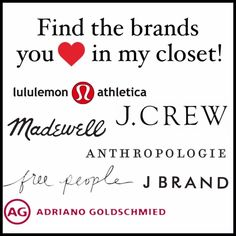 FIND YOUR FAVORITE BRANDS! 😍 Find the brands you love in my Poshmark closet such as: -Lululemon Athletica -J. Crew  -Madewell -Anthropologie -Free People -J Brand and many many others!   Happy Poshing! 💕😄 lululemon athletica Tops