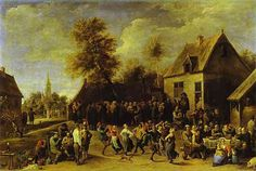 David Teniers The Younger  | Country celebration - David Teniers the Younger - WikiArt.org