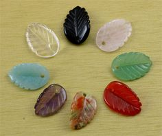 SmartyHands.com: Amazonite Leaf 16-A / 1pc