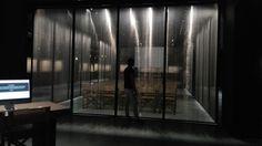 Armani Silos 2015 - sparkling metal grid