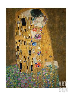 The Kiss, c.1907, by Gustav Klimt