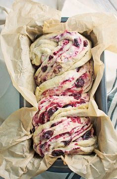 Unwrap the flavor of the season with this Cranberry Cream Cheese Babka! Get the recipe @LittleFiggyFood #celestialseasonings #themagicoftea #ad