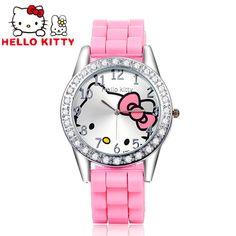 $2.98 (Buy here: https://alitems.com/g/1e8d114494ebda23ff8b16525dc3e8/?i=5&ulp=https%3A%2F%2Fwww.aliexpress.com%2Fitem%2F2016-Hello-Kitty-Watches-Girl-Luxury-Rhinestone-Cartoon-Watch-Kids-Watch-Children-Silicone-Quartz-Watch-Clock%2F32717934736.html ) Hello Kitty Kids Watch Rhinestone Cartoon Watch Children's Watches For Girls Jelly Silicone Clock Cute Children Watch Baby saat for just $2.98