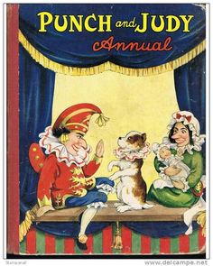 Punch and Judy vintage book cover
