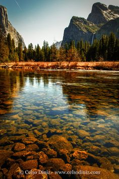 Born in Merced, CA.      This is the Merced River