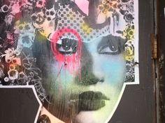 Street Art by Dain, NYC