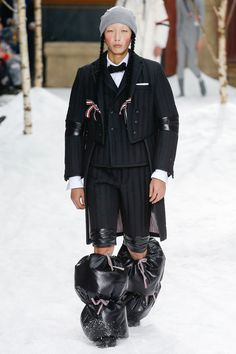Thom Browne Fall 2018 Menswear Fashion Show Collection