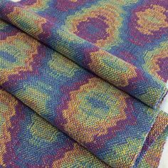 Long Table Runner Hand Woven Textile Art Boho by LoomOnTheLake