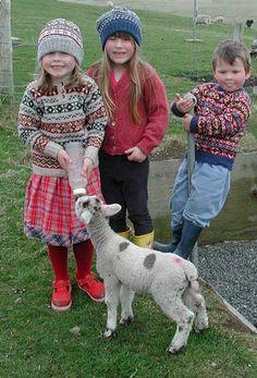 fair isle knitting - I'm learning how!!