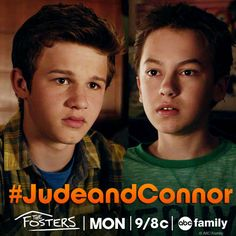 #JudeAndConnor #TheFosters