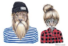 Rebeca Losada   >>hipsters at their best?