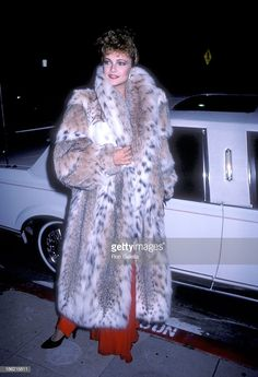 Actress Emma Samms attends Scruples by Volere Furs Boutique Grand Opening Celebration on September 1986 at Scruples by Volere Fur Boutique, 8600 Sunset Blvd. in West Hollywood, California. Get premium, high resolution news photos at Getty Images Fur Coat Fashion, Vintage Fur, Fur Jacket, Fashion Dolls, Style Guides, Mantel, Your Style, Sexy Women, Photos