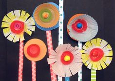 This was a really fun project for children aged between three and eight. I simply provided the children with scissors, glue and lots of brightly coloured…