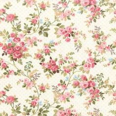 Floral Vine Quilt Fabric - Keepsake Quilting