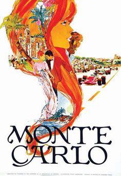 Monté-Carlo - Grand Prix Automobile     vers 1970