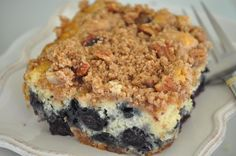 #1 Blueberry Muffin Streusel Cake goes VIRAL- tastes like best blueberry muffin recipe & moist blueberry coffee cake recipe-A no willpower recipe!