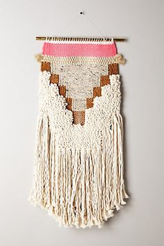 Handwoven Arrow Tapestry, Medium - anthropologie.com
