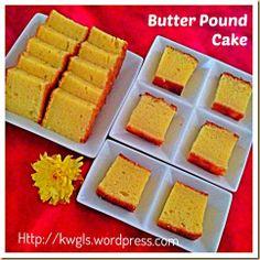 Back To Basics–Modified Traditional Butter Pound Cake   GUAI SHU SHU