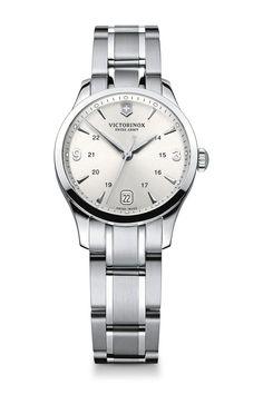 Women's Alliance Small Silver Dial Watch