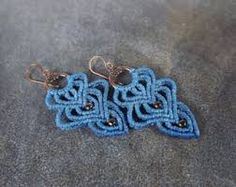 Bildresultat för macrame earrings
