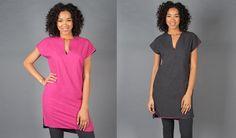 A dress for success. A dress for moderate achievement. Also, several dresses for just sitting around and drinking wine. Convertible Clothing, Travel Chic, Betabrand, Travel Dress, 3 Piece Suits, Dress For Success, Pink Ladies, Short Sleeve Dresses, Tunic