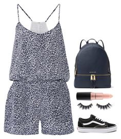 """""""I WILL rise"""" by nycheart05 ❤ liked on Polyvore featuring Joie, MICHAEL Michael Kors, Vans, Violet Voss and MAC Cosmetics"""