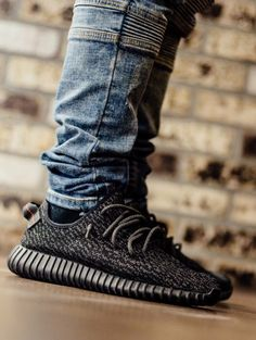 8401030c15b777 adidas Yeezy 350 Boost  Pirate Black Shoes Men
