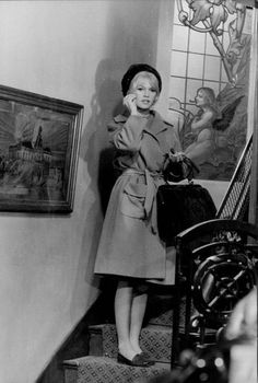 Brigitte Bardot in Le repos du guerrier (Love on a Pillow), 1962.