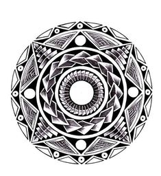 Latest Polynesian Maori Sun Tattoo Photo #samoantattoossymbols #polynesiantattoossymbols