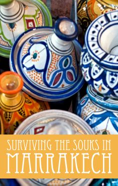 Tips for surviving the #souks in #Marrakech #Morocco