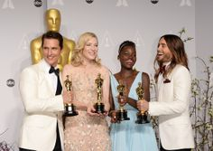 Lupita Nyong'o - Press Room at the 86th Annual Academy Awards