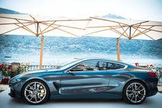 BMW 8-Series Concept Looks Even Better Under The Italian Sun [32 Pics]