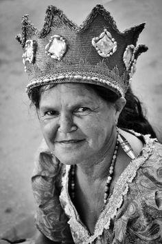 A mulher no Maracatu Rural - Nazaré da Mata - Pernambuco - Brazil