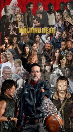 Los vivos y los muertos, todos contra Negan The walking dead