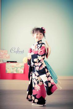What a cute little kimono~