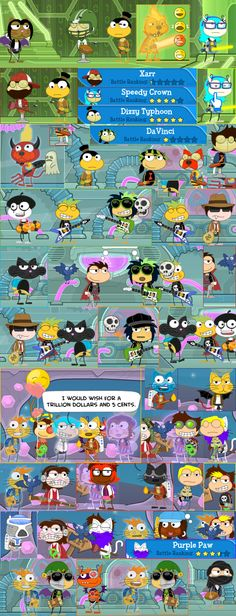 Poptropica & the weird styles
