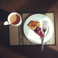 """@PAPER/PLATES's photo: """"Good morning. I'm still sick but this is helping. Recipe at www.paperplatesblog.com today."""""""