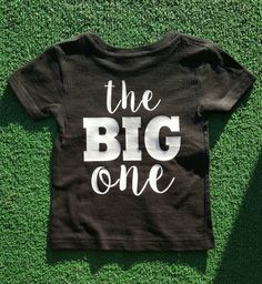 Items Similar To 1st Birthday The Big One Year Old Shirt Happy Baby Boy Girl On Etsy