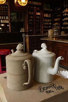 Teapots by Astier de Villatte (Kuhn Keramik Berlin)