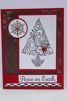 Stampin Up Christmas card by the Pursuit of Stampiness