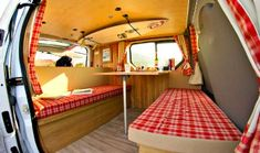 Got a van? Great, if you know how to create with wood and plywood, this is one quite simple solution to go with.