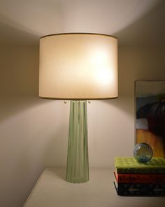 From Things that Inspire blog. Barbara Berry for Baker lamp.