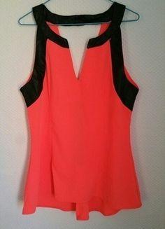 À vendre sur #vintedfrance ! http://www.vinted.fr/mode-femmes/hauts-and-t-shirts-t-shirts/21297884-top-fluo-et-noire