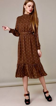 Swans Style is the top online fashion store for women. Shop sexy club dresses, jeans, shoes, bodysuits, skirts and more. Lovely Dresses, Modest Dresses, Casual Dresses, Classy Outfits, Chic Outfits, Dress Outfits, Modest Fashion, Hijab Fashion, Fashion Dresses