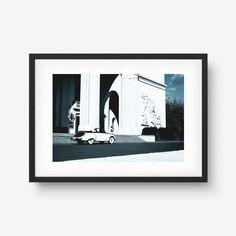 Fine Art Prints, Car, Artwork, Behance, Vintage, Gallery, Automobile, Work Of Art, Roof Rack