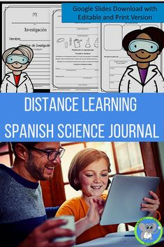 Create unique experiments following the scientific method with 3rd, 4th, and 5th graders. This science journal is translated into Spanish to help ESL Learners and Spanish speaking classrooms. Use the Google Slides version for e-learning and distance learning. Printable version included. Perfect for families and classrooms to use for the science fair. Science Fair Experiments, Science Fair Projects, Science Resources, Science Activities, Fourth Grade Science, Upper Elementary Resources, Next Generation Science Standards, Scientific Method, How To Speak Spanish