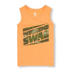 The Childrens Place Big Boys Graphic Tanks